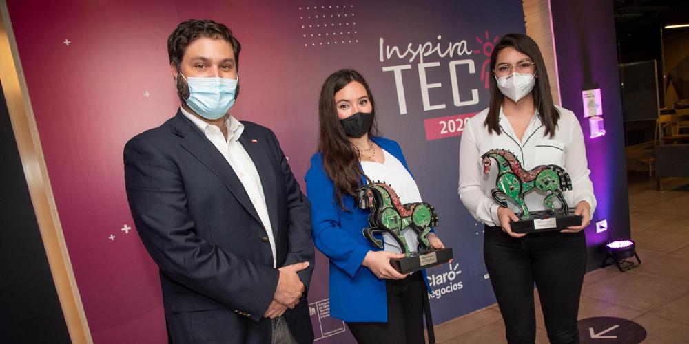 """Subsecretario Pertuzé encabeza cuarta edición de premio InspiraTEC: """"Reconocer el talento de nuestras emprendedoras es crucial para ganar espacios para las mujeres en ciencia y tecnología"""""""